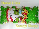 Bantal Cinta Keroppi Sleepy