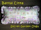 Bantal Cinta Secret Garden Ungu